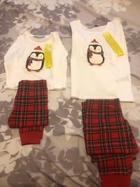 Brand new holiday pj set asking for 45 for both size small for My kids  Toronto, M9B 6B9