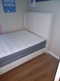 white and gray bed mattress Sterling, 20166