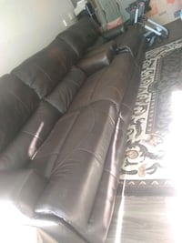 Italian leather couches purchased from AFW Northglenn, 80233