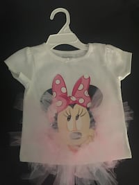 white and red Minnie Mouse print shirt Pottstown, 19464