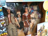 Boxed deluxe Indian Princess set