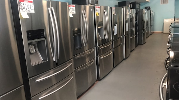 Stainless steel refrigerator+10% off