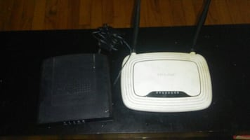 cable modem and wifi router