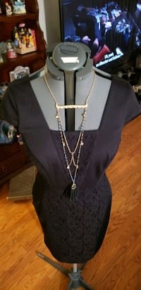 New w tags sz small The Limited black lace panel dress  Des Plaines, 60016