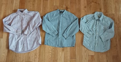 Boy's Size 7/8 Dress Shirts