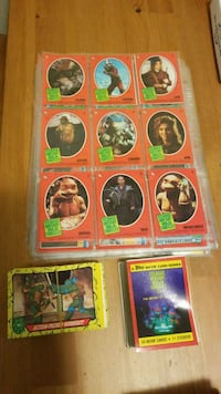 Ninja turtle movie cards