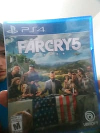 Farcry 4 PS4 game case Winnipeg, R2K 2M2
