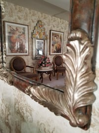 Beautiful Mirror with Scrolls and Charm Los Angeles, 91405
