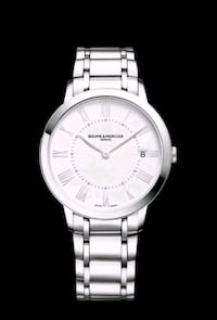 **BRANDNEW NEVER USED*BAUME MERCIER WOMEN'S QUARTZ