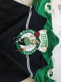 Real sports fashion Stylish BOSTON CELTICS throwback varsity jacket