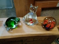 three clear glass table decors Red Bank, 29073