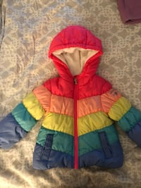 Rainbow jacket size 2T Port Moody, V3H 5B9