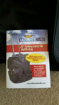 Rolling Duffle 20'. New Frederick