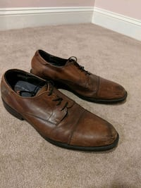 Men's Brown Leather Dress Shoes Arnold