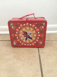 Mario Nintendo lunch box