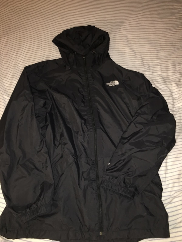 Large North Face hoodie
