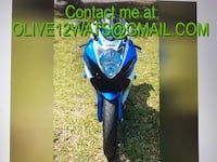 Never dropped2011 Suzuki GSX-R 600 No scratches or dents