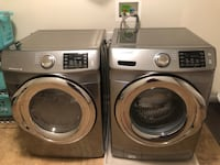 Samsung 4.2 cu. ft. Washer and 7.5 cu. ft. Dryer combo Delaware, 43015