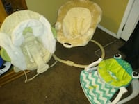 Baby swing & Two Baby Seats