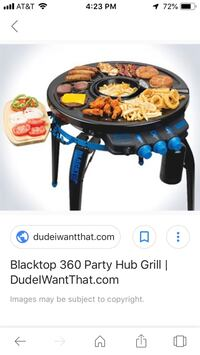 Blacktop 360 Grill n Fryer Broadlands, 20148