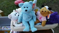 two blue and white bear plush toys Martinsburg, 25405
