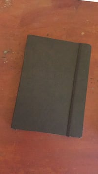 Plain Dark Brown Notebook with Lines - New Coventry, CV3