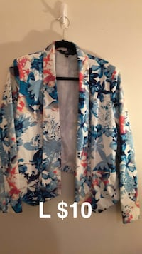 blue, white, and red floral cardigan Provo, 84604