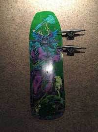 Land Yachtz Skateboard Deck, with Free Trucks included Sherwood Park, T8A 5X7
