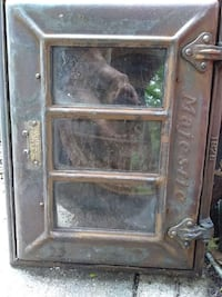Used Majestic Cast Iron Coal Chute Door For Sale In New