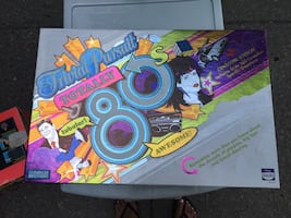 Trivia Pursuit Totally 80s Game