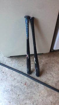 Two     baseball bats. wood used Centralia, 98531
