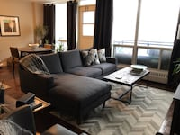 "New Grey Sectional Sofa - Structube ""Constance"" Toronto, M6H"