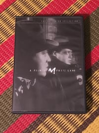 """Fritz Lang's """"M"""" Criterion Edition DVD"""