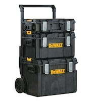 Dewalt tool chest. 4 pieces. Used a couple times.