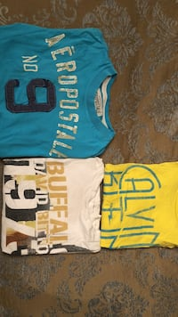 CK, Aeropostale, Buffalo S/S Shirts (see above photos for sizes) Vaughan, L4K 3Z9