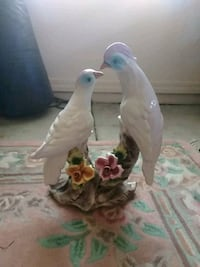 two white ceramic birds figurine Peoria, 85381