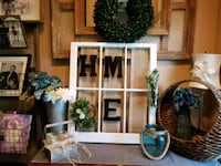 Six Pane Farmhouse Window Decor Weeki Wachee, 34614