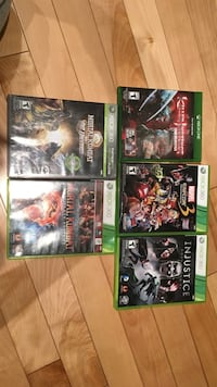 six Xbox One game cases Halifax, B3N