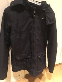Svart zip-up jakke For Man Oslo, 0273