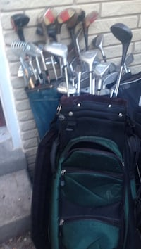 3 sets right handed golf clubs.  Spaldings, Woods.  $100 for all three St Catharines, L2S