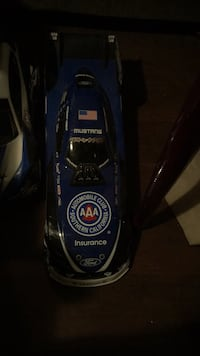 black and blue Bissell upright vacuum cleaner Houston, 77088