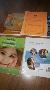 ECE textbooks- $50 for all Kitchener, N2H 5W9