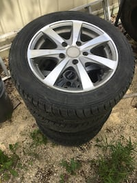 """15"""" Wheels and tires;  5 x 114.3mm set of 4; fit Mazda also have tail lights"""