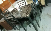 5 Piece Brand New Dining Table Set  Kenner, 70062