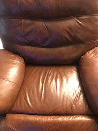 brown leather recliner sofa chair El Paso, 79934