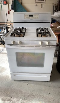 "30"" Natural gas Whirlpool Cooking Range and Oven"