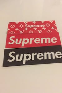 Supreme sticker 1 for 10kr Oslo, 0551