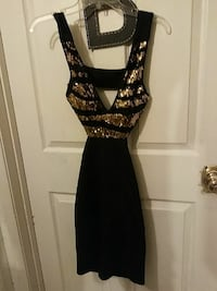 Black, New 3-4, Totally Backless Evening Gown!!  Las Vegas, 89119