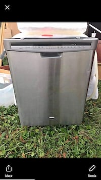 gray and black Frigidaire dishwasher 225 km