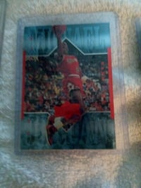 Chicago Bulls Michael Jordan player card Houston, 77092